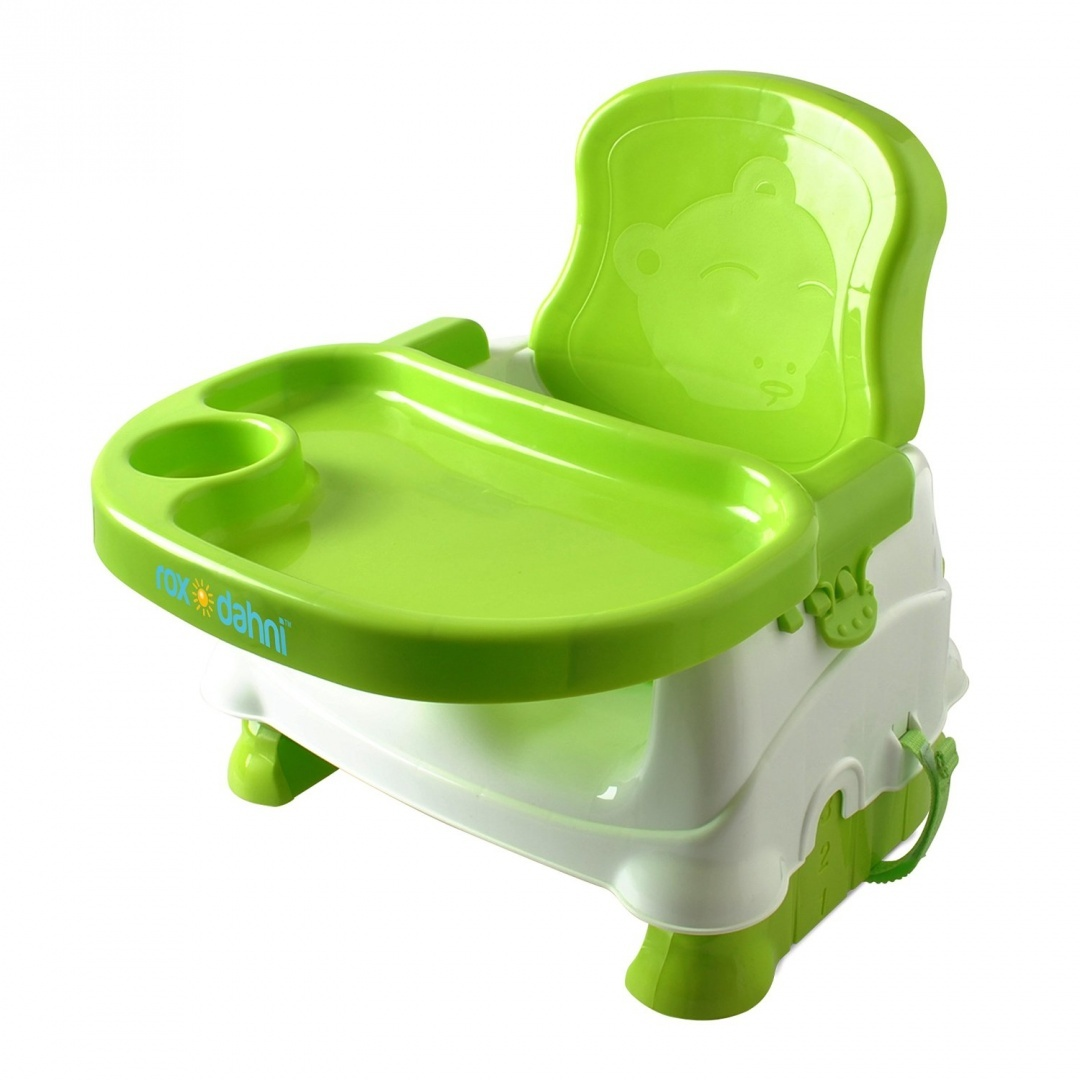 Booster Seat For Dining  Toddlers Portable High Chair Booster Seat  Best  Booster Seats For Eating With 3 Point Harness Secures Baby Tightly While  You Feed ...