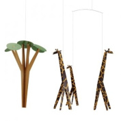 Flensted Mobile Giraffes on the Savannah