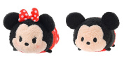 "Mickey and Friends ""Tsum Tsum"" Mini Plush Collection Minnie Mouse and Mickey Mouse"