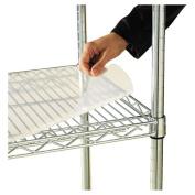 Alera - Shelf Liners For Wire Shelving, Clear Plastic, 48w x 24d, 4/Pack SW59SL4824 (DMi PK