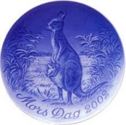 Bing & Grondahl Mother's Day Plate 2002 - Kangaroo with Young