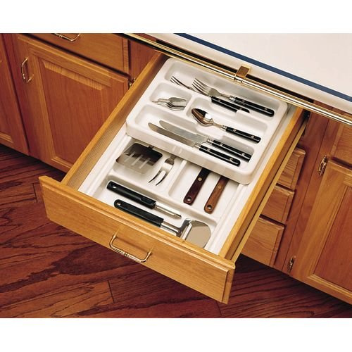 Drawer Tray Inserts Plastic Two Tiered Cutlery