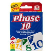 9 X Phase 10 Card Game