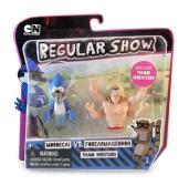 Regular Show Thumb Wrestlers-Mordecai vs. Forearmegeddon Puppet