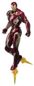 SH Figuarts Avengers Iron Man Mark 45 about 155mm ABS u0026 PVC u0026 die-cast painted action figure
