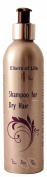 Elixirs of Life - Shampoo for Dry Hair - SLS & Paraben Free 250ml