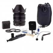 Fujifilm XF 18-55mm (27.4-83.8mm) F2.8-4 R LM OIS Lens - Bundle With Black - 58mm Filter Kit (UV/CPL/ND2), Cleaning Kit, Lenspen Lens Cleaner, Slinger Lens Case, Capleash II