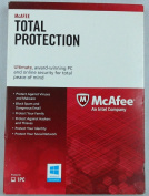 McAfee Total Protection 1PC Activates 2015-2016 When Released