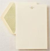 Crane & Co. Hand Engraved Bee Half Sheet