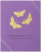 Boston International Metropolitan Museum Of Art Boxed Correspondence Cards Butterflies