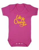Like A Champ Baby Boy Girl Unisex Short Sleeve Bodysuit