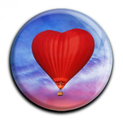 """Magnet in a round shape """"Hot Air Balloon"""""""