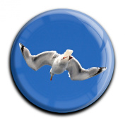 """Magnet in a round shape """"Seagull"""""""