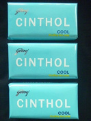 Godrej Cinthol Cool Bath Soap Cooling Deo Soap -75G X 3 Soap