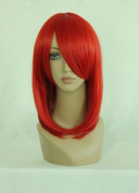 CC-WIG-022B Red Wig Approx. 45cm for Cosplay / Window Doll / Carnival / Fancy Dress - Red for Black Butler - Madame Rouge