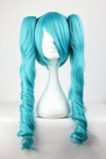"""Turquoise Wig - 65 cm Long - For Vocaloid / """"Miku Hatsune, Blue"""" Cosplay / Carnival / Halloween"""