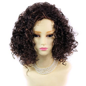 SEXY Wild Untamed Brown & Red Short Curly Ladies Wig from by Wiwigs ®