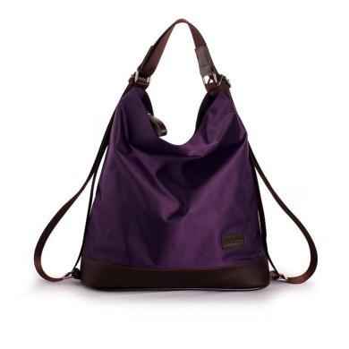 AiSi Large Fashion Women's Nylon Collection Top-handle Cross Body Shoulder Bag Satchel Tote Handbag