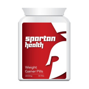SPARTAN HEALTH WEIGHT GAINER PILLS - PUT ON SIZE BULKING PILL GAIN SIZE & MUSCLE