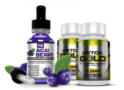 T5 Acai Berry Serum & Detox Gold
