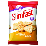 Slim Fast 22 g Cheddar Bites Snack Bag - Pack of 12