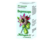 DEPRESCAPS -30 capsules - a dietary supplementation - combination of the perfectly selected herbs reduces feeling of anxiety and fear.