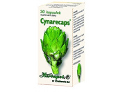 CYNARACAPS - 30 capsules - Artichoke leaves extract shows cholagogic and blood cholesterol reducing properties. Prevents atherosclerotic changes