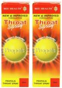(2 Pack) - Bee Health - Propolis Throat Spray | 50ml | 2 PACK BUNDLE