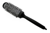 Hair Brush Ceramic Radial Curling Brush Blow Dry Straightening Salon Styling