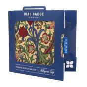 Blue Badge Company William Morris Golden Lily Fabric Holder Hologram Safe Disabled Parking Permit Display Wallet