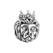 Soufeel 925 Sterling Silver Singapore Merlion Lion Charm Fit Brands Charm European Charms Bracelets