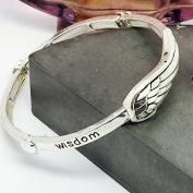 Angel Wing Stretch Bracelet
