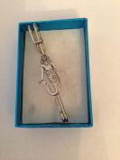 "Mermaid PP-G06 kilt pin Scarf or Brooch pin pewter emblem 3"" 7.5 cm"