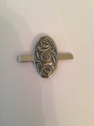 Celtic Shield PP-G36 English Pewter emblem on a Tie Clip