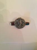 Medusa MEKR English Pewter emblem on a Tie Clip 4cm long