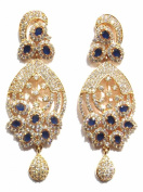 Shingar Jewellery Ksvk Jewels Women's Cubic Zirconia Earrings Danglers