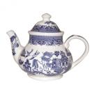 Churchill Blue Willow - Georgian Teapot - 1200ml - 6 Cup