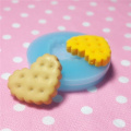 020LBQ Kawaii Cute Heart Cookie Fondant Silicone Mould for Cake Cookie Decorating Chocolate Soap Epoxy Clay Fimo Clay