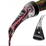 HuntGold 1X Essential Quick Aerating Pourer Decanter Red Wine Bottle Mini Travel Aerator