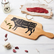 Wooden BBQ Meat Serving Board