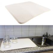 Kitchen Sink Drainer Super Absorbent Microfibre Washing Up Tea Towel Dish Mat