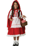 InCharacter Costumes Girls 2-6X Little Red Riding Hood Dress Set, Extra Small