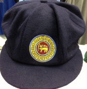 CLASSICAL TRADITIONAL MELTON CRICKET CAP WIH SRI LANKA TEST LOGO BAGGY STYLE