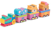 Tobar Happy Train Eraser Set