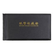 Banknote Currency Collectors Album Pocket Storage 30 Pages Black