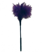 Sex & amp Mischief Feather Tickler 18cm Purple Sex & amp Mischief Feather Tickler 18cm Purple