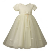 KID Collection Baby-Girls' Butterfly Tulle Dress & Headband