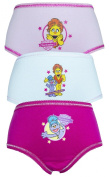 The Furchester Hotel 3 Pack Girls Pants / Knickers
