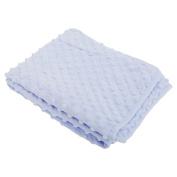 Baby Boys/Girls Bobble Texture Blanket (75cm x 90cm)