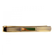 Dalaco Gold Plated Textured Tie Bar